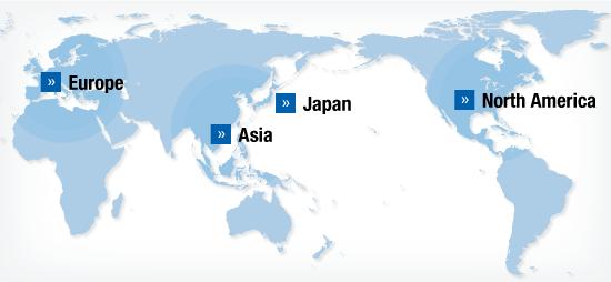 Global Operations | Corporate Information | Akebono Brake Industry ...