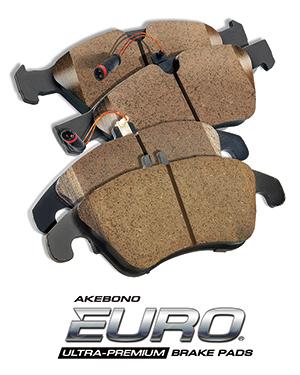 EURO<sup>&reg;</sup> Ultra-Premium ceramic disc brake pad